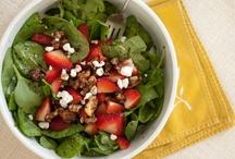 food: salads / by Rebecca Benson