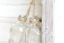 Botellas, vidrio...