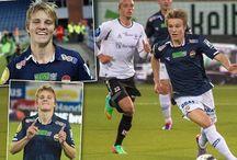 Martin Odegaard. Content curation / Tablero sobre Martin Odegaard, donde se muestran distintas imágenes y enlaces a contenidos sobre este joven talentoso futbolista noruego que recorrió los mejores equipos de Europa para acabar recalando en uno de los grandes.