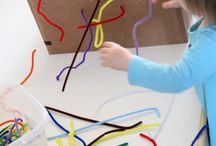Fine motor and Sensory Play / Fine motor and sensory activities for toddlers and preschoolers