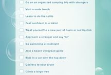 Bucketlists