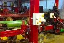 Column & boom welding