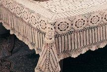 Tablecloths & Doilies - Crochetrelated / Crochetwork and patterns I've found online.