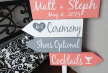 Coral and Grey Wedding Ideas
