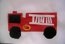 fire truck preschool crafts