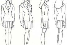 characters model sheet