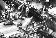 Granville Train Derailment / The older Australian generation will remember this terrible day, the fact some people survived under the crush of the bridge is a miracle in it self.