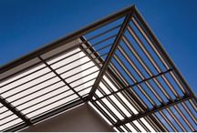 Sunscreening / Sunscreens and exterior building architecture