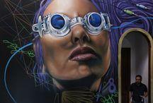 Graffiti and Airbrush