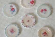 Miniature dish tuts and printies / by Jene