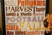 Fall / by Andrea Parker Alldredge