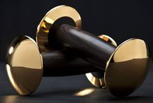 #Goldloft - Luxury Dumbbells by #Hockdesign / #GoldenDumbbells by #Hock - are the most expensive dumbbells in the world. Make your home #fitnessstudio more stylish with the design dumbbells. To find more #sportequipment of the premium segment, visit: www.lux-exchange.com #luxuryfitness #billionaire #millionaire #billionairefitness