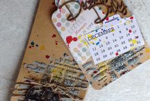 December Daily 2014 / A photo a day of our december  Ive used a G45 tag book