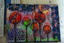 Art journal by Dian