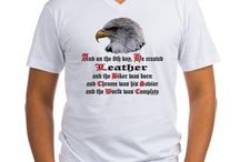 """Biker T-Shirts - On The 8th Day / """"And on the 8th Day, He Created ______________, and the Biker was Born.  This is a growing section on cheylines.com and will continue to expand...  Cheylines originated creating t-shirts for Bikers... as the Designer herself, rides..."""