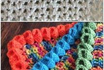 Borders for crochet blankets