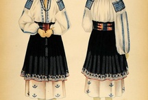 romanian traditional costumes ( IE)
