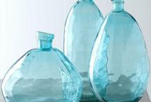 Glass bottles / by Ingrid van der Eem