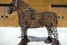 lópatkó művészet, horseshoe art / lópatkó, horseshoe art