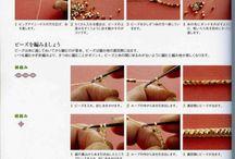 sznury koralikowe-szydełkowe(nie ukośniki)