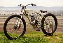 Motorised Bicycle / For the love of the push bike and passion of the internal combustion engine.