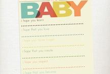 Baby Shower Ideas / by Stephanie Weber