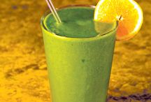 Green Smoothies / Yummy Green Smoothies and Recipes