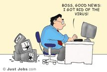 Career Cartoons / Career-focused cartoons licensed by JustJobs.com. Visit http://academy.justjobs.com/cartoon-caption-contest/ to create your own job jokes and have them pinned online.