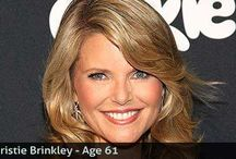 Christie brinkley / Reducing lines