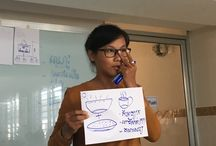Young aspiring entrepreneurs rep.of FHF SG Federation, attending C-BED AE orientation, Cambodia