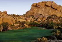 Award-winning Golf in Scottsdale Arizona  / Experience challenging golf at The Boulders Resort - the leader among Arizona golf destinations. Featuring two championship-level #golf courses with breathtaking surroundings and sweeping panoramic views. Both courses stretch across an enchanting #Arizona Sonoran Desert landscape and are listed among the finest in the United States.  / by The Boulders, A Waldorf Astoria Resort