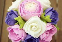 flanel bouquet