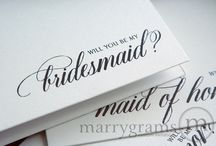 Formal Wedding Inspiration / For the formal, black-and-white, black-tie, traditional, and/or classic wedding that would go elegantly with our Calligraphy style stationery