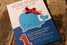 Bree's 2nd Birthday Party - Splish Splash / by Jenise B