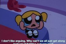The powerpuff girls / Bubbles is a role model