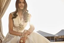 Alchemy By Anita Dongre /  Alchemy, celebrates the surreal and the whimsical and combines the deserts of our muse state, Rajasthan, with verdure to present a fantastical land that glistens with the golds of the sand with a mix of a lush forest