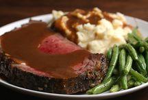 Prime rib steak etc.