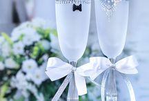 Wedding Goblets / https://www.etsy.com/shop/WeddingGoblets