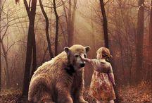 Medvék babákkal