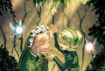 The legend of Zelda Salia