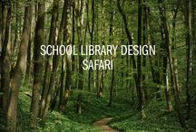 School Library Design Safari / Design ideas for RU 575 (please include inspiration relating to floor design, furniture, colors, signage, etc!