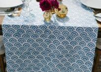 table runners + linens