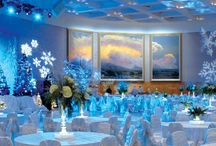 Sam Noble Special Events Center / This magnificent 16,500 square foot facility offers the most unique and breathtaking décor in the West. Five monumental 18′ x 46′ triptychs depicting Western landscapes by renowned artist Wilson Hurley, adorn the walls of this one-of-a-kind banquet area.The room has a banquet seating capacity of 1,000 and is equipped with the latest technology for all of your audiovisual needs. Prep-kitchen facilities are available. http://nationalcowboymuseum.org/about-the-museum/facility-rentals/ / by National Cowboy & Western Heritage Museum