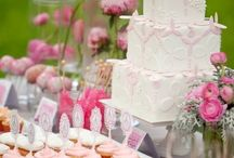 Cake or sweet table