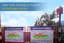 Traffic Trolly Advertising