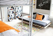 Decor Ideas - Kiddos' Room / Cozy bedrooms for my future kiddos / by Penny Manson
