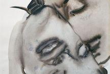 Marlene dumas / artiste sud africaine apartheid identité érotisme perversité racisme