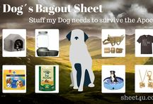 Dogs bug-out bag / What a Dog needs to Bug-Out