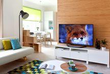 Proměny - obývací pokoj / Ukázky z nejoblíbenější rubriky Marianne Bydlení Proměny, kde se domovy čtenářů pod rukama profesionálního designéra mění ve stylová a útulná místa pro život.
