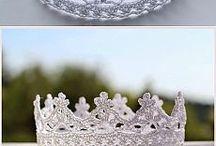 virkattu kruunu